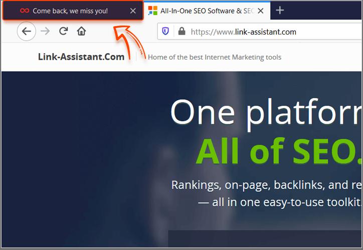 HTML Title Etiketi