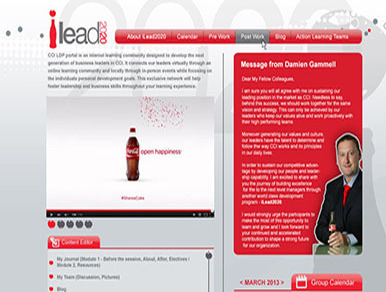 Coca Cola - Liderlik Geliştirme Portalı