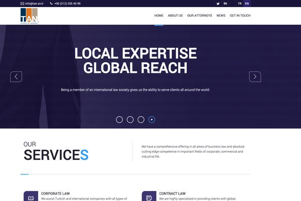 Tan Avukatlık - Web Sitesi