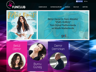 Funclub - Etkinlik Portalı