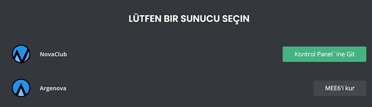 MEE6'yı Kur