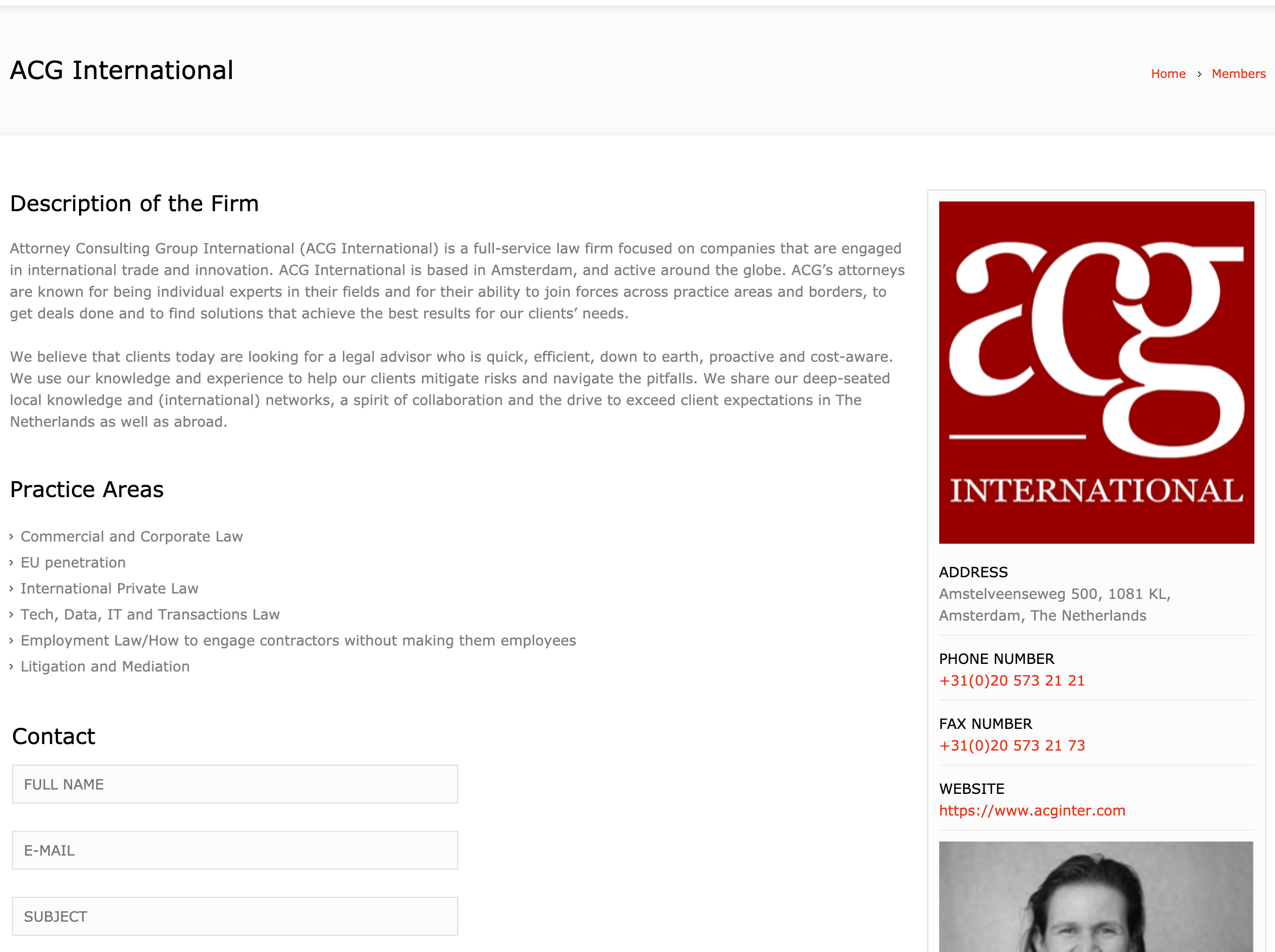 EALG Firma Detay