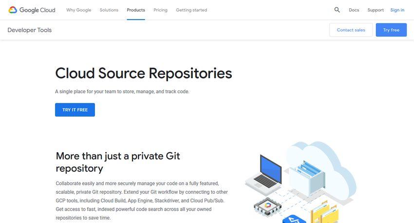 Google Cloud Source